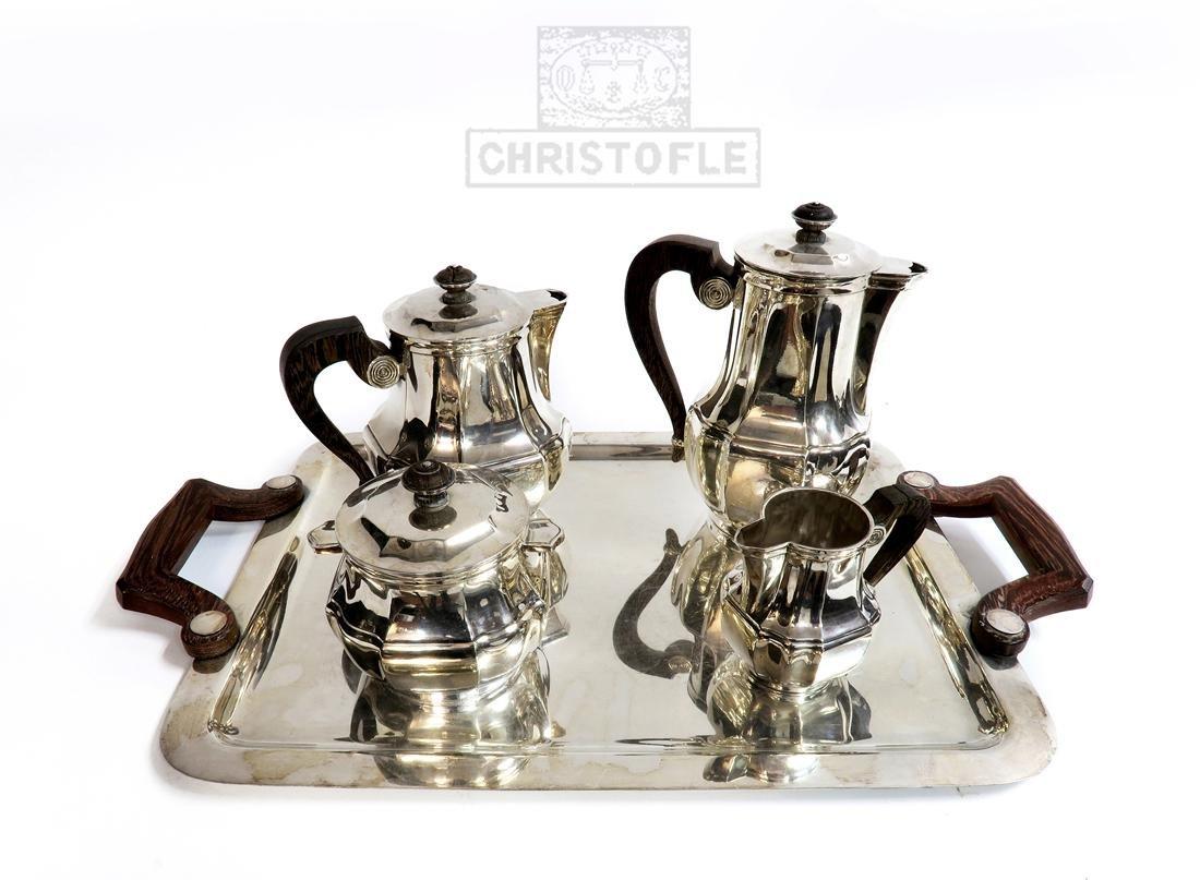 Christofle Silver-Plated Tea Service