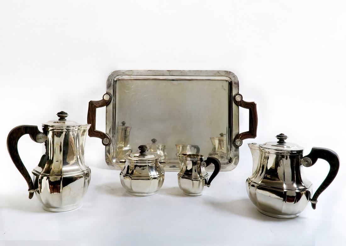 Christofle Silver-Plated Tea Service - 2
