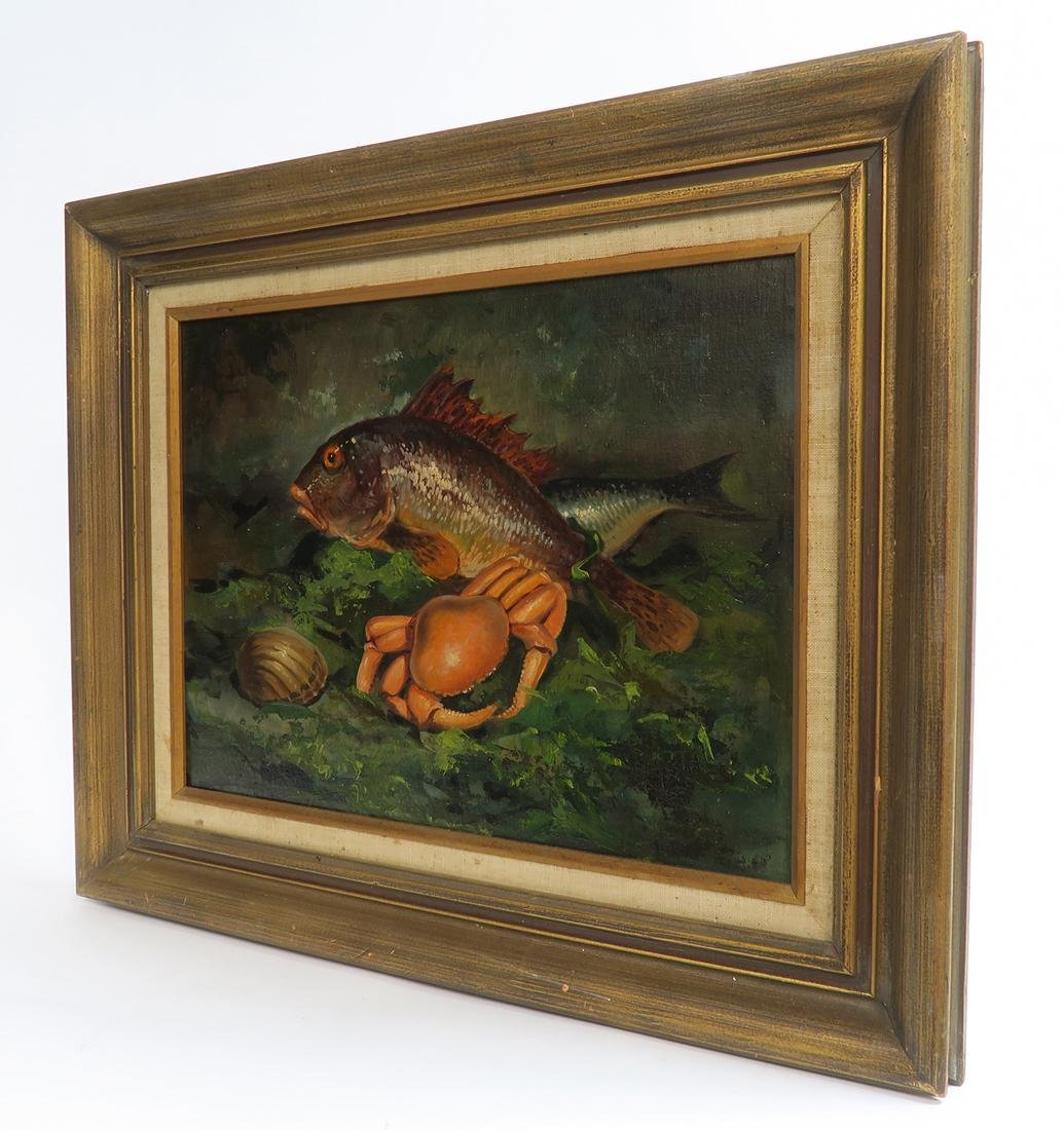 Oil on Canvas Seafood Painting - 3
