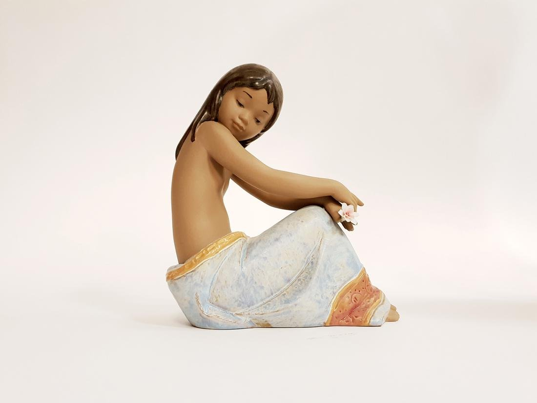 "LLADRO ""Island Beauty"" Porcelain Figurine, Original Box - 3"