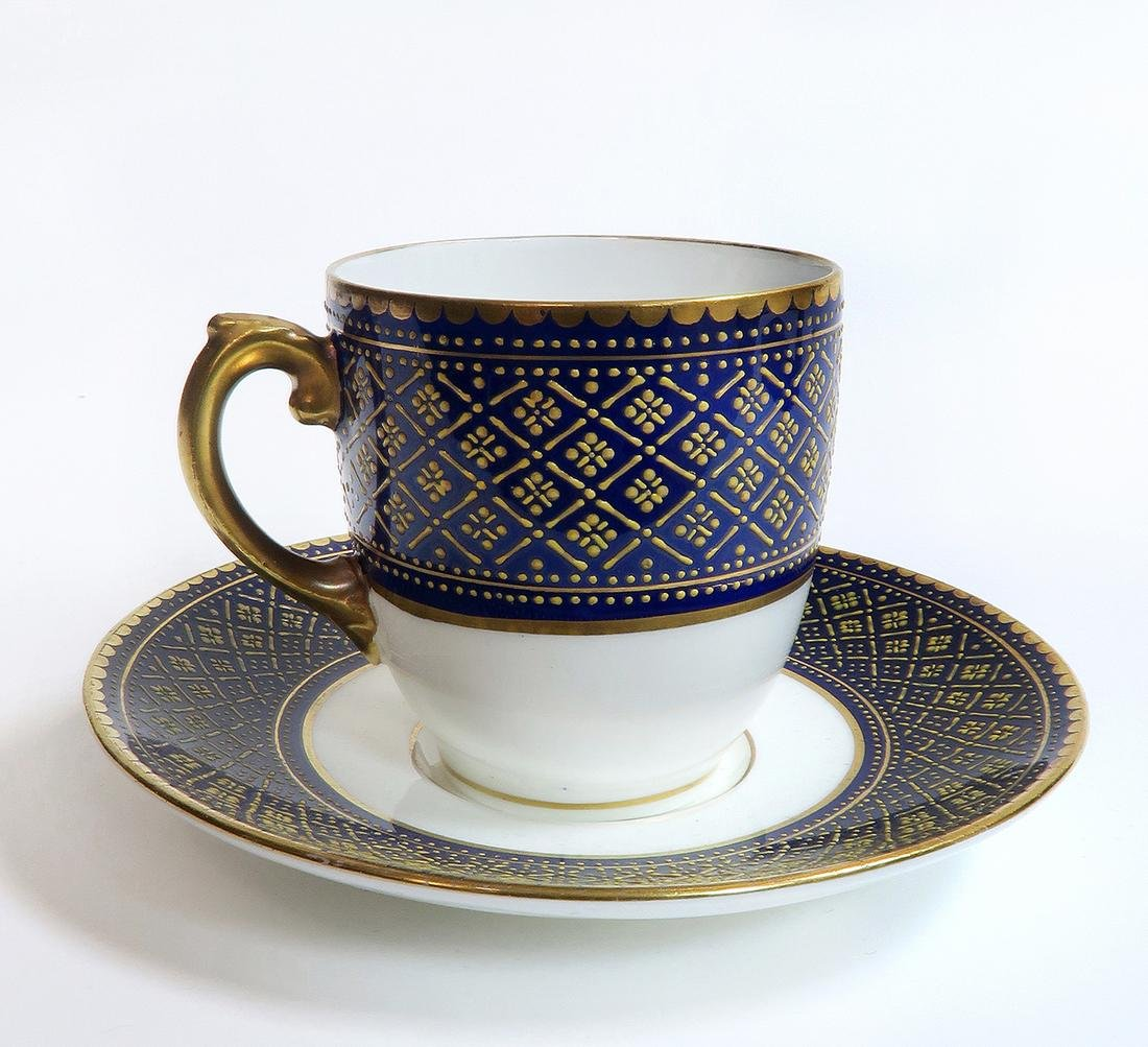 Set of Coalport for Tiffany & Co Cup & Saucers - 2
