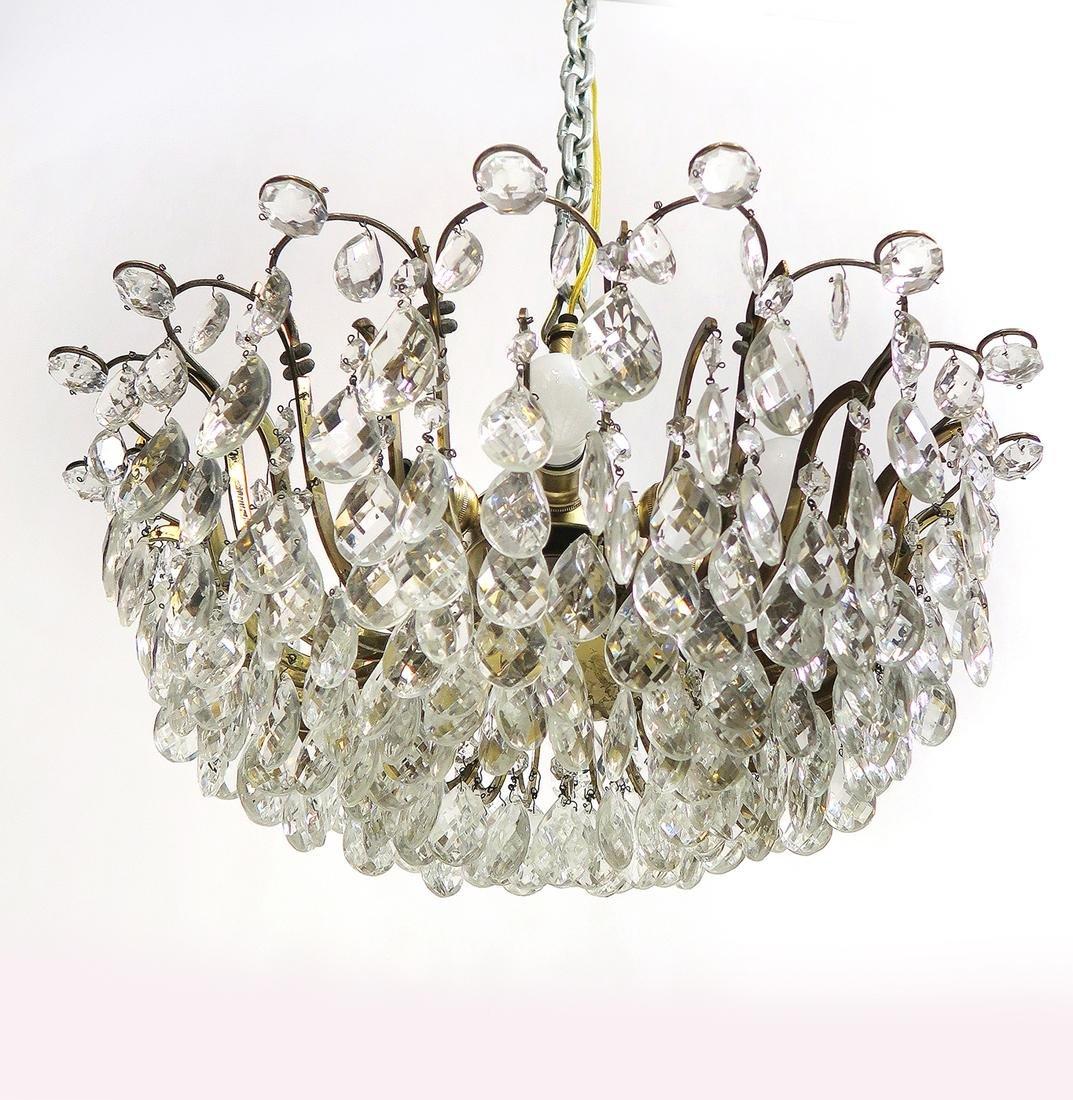 A Crystal Chandelier 7-Light