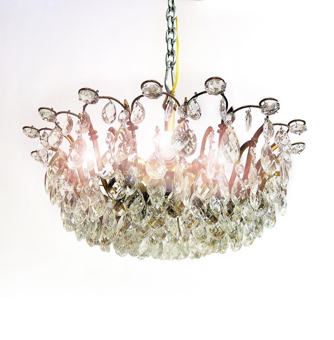 A Crystal Chandelier 7-Light - 2