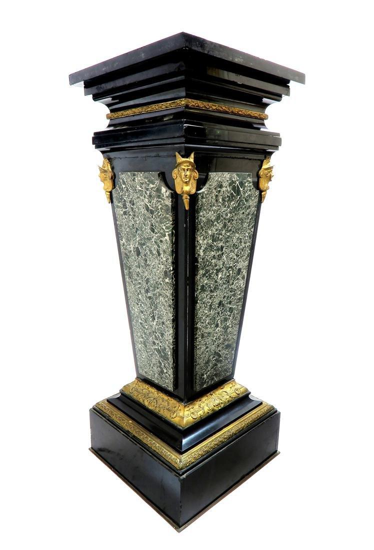 Very Fine Monumental Sevres Vase on Pedestal - 3