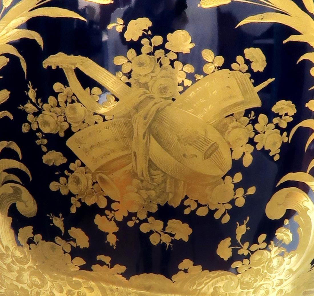 Very Fine Monumental Sevres Vase on Pedestal - 9