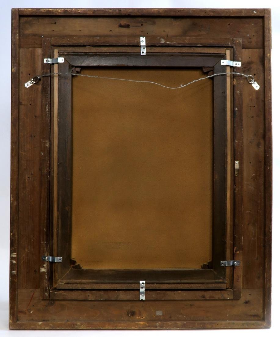 A Large 19th C. Continental Framed Oil on Canvas - 6