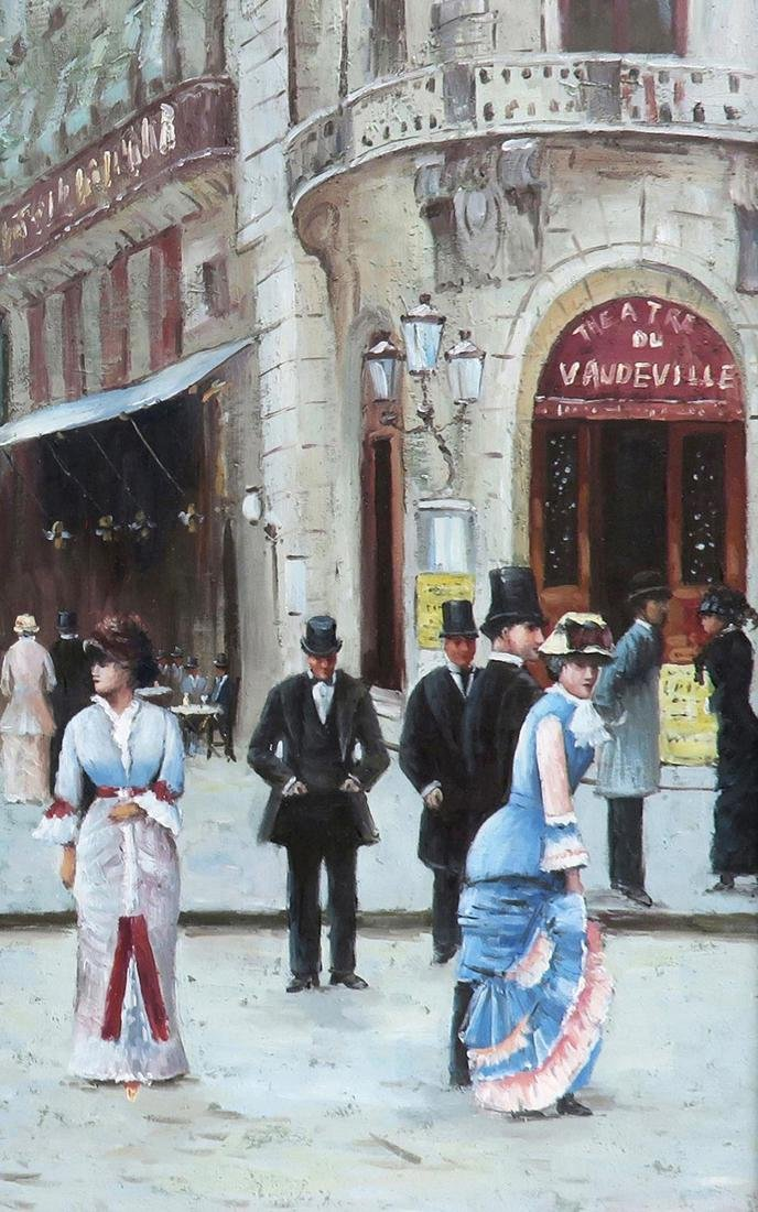 A Large Oil on Canvas After Jean Beraud - 5