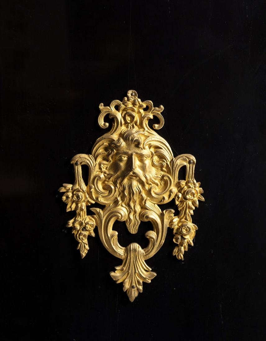 Louis XIV style Bronze & Marble Boulle Marquetry - 3