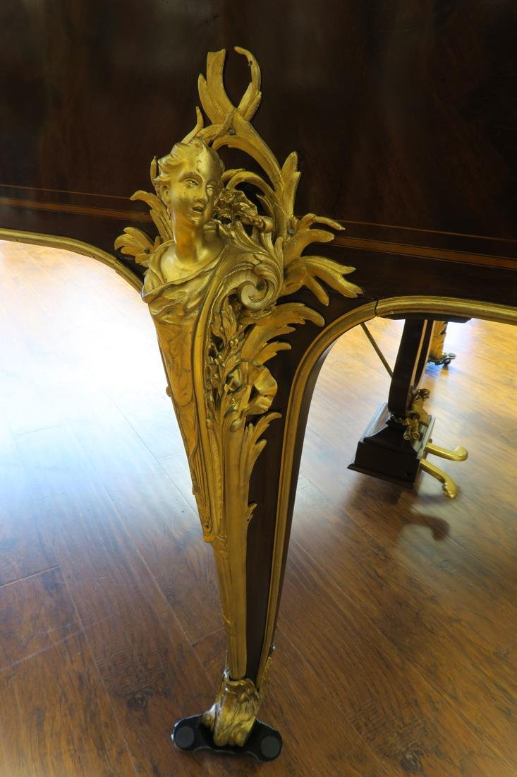 Magnificent F. Barbedienne Bronze Mounted Grand Piano - 4