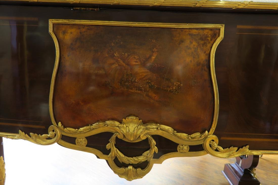 Magnificent F. Barbedienne Bronze Mounted Grand Piano - 5