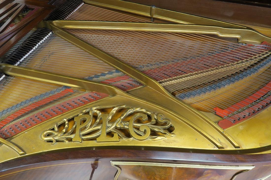 Magnificent F. Barbedienne Bronze Mounted Grand Piano - 9