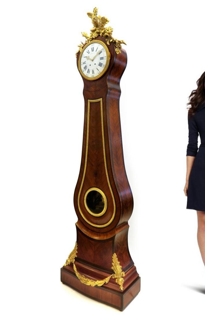 Tiffany & Co. Parquetry & Bronze Long-case Clock