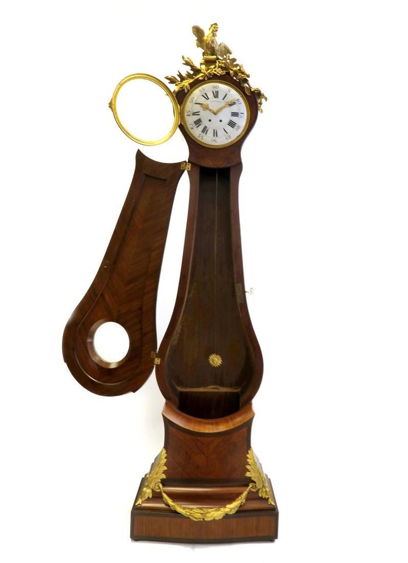 Tiffany & Co. Parquetry & Bronze Long-case Clock - 3