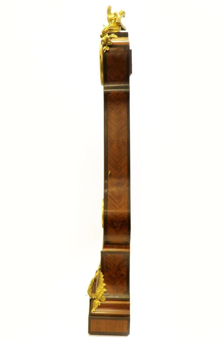 Tiffany & Co. Parquetry & Bronze Long-case Clock - 4