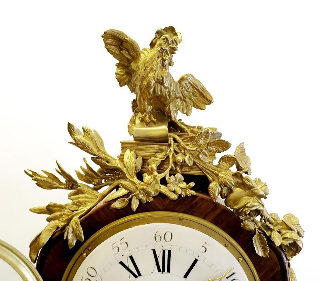 Tiffany & Co. Parquetry & Bronze Long-case Clock - 5