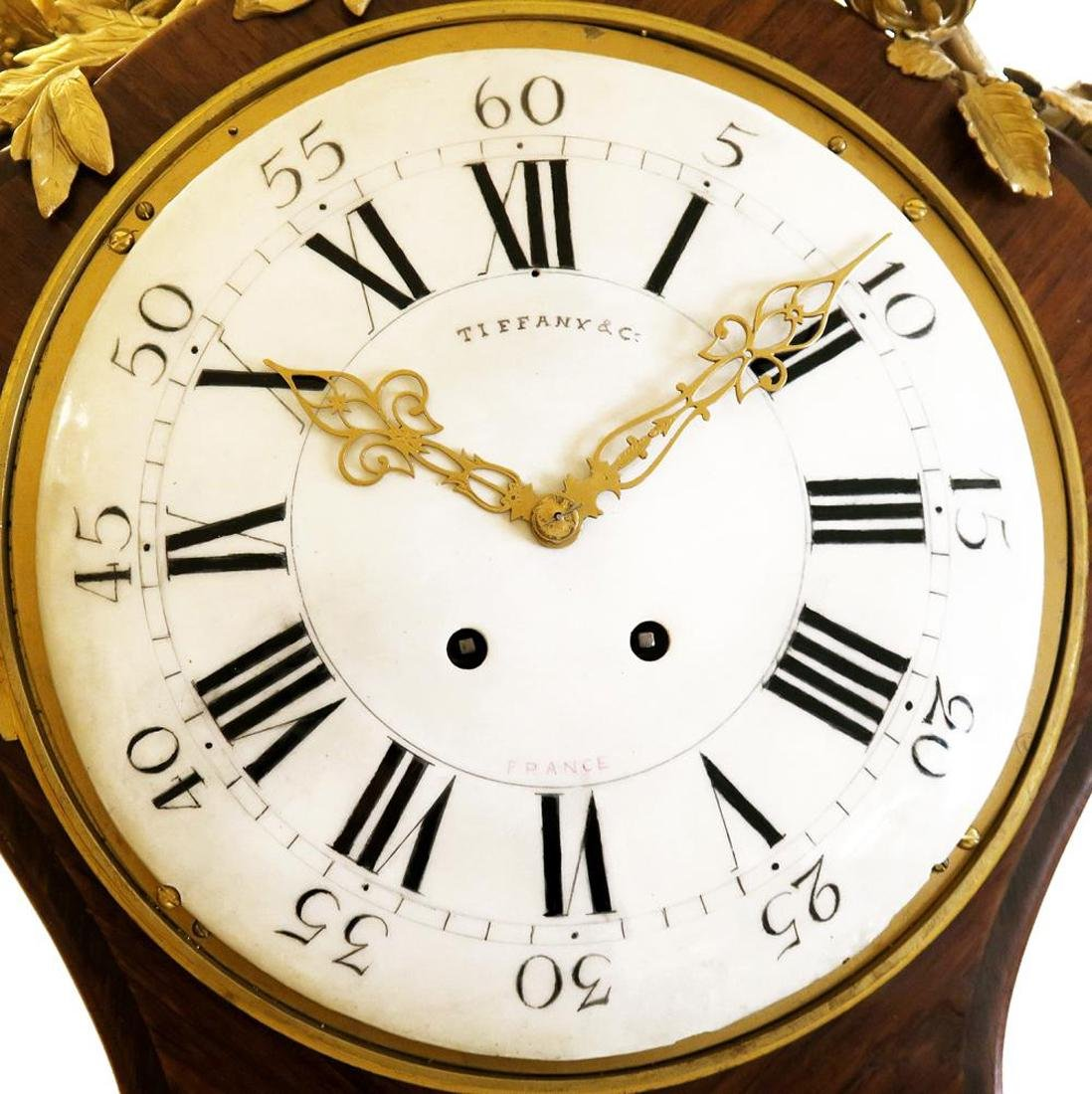 Tiffany & Co. Parquetry & Bronze Long-case Clock - 8
