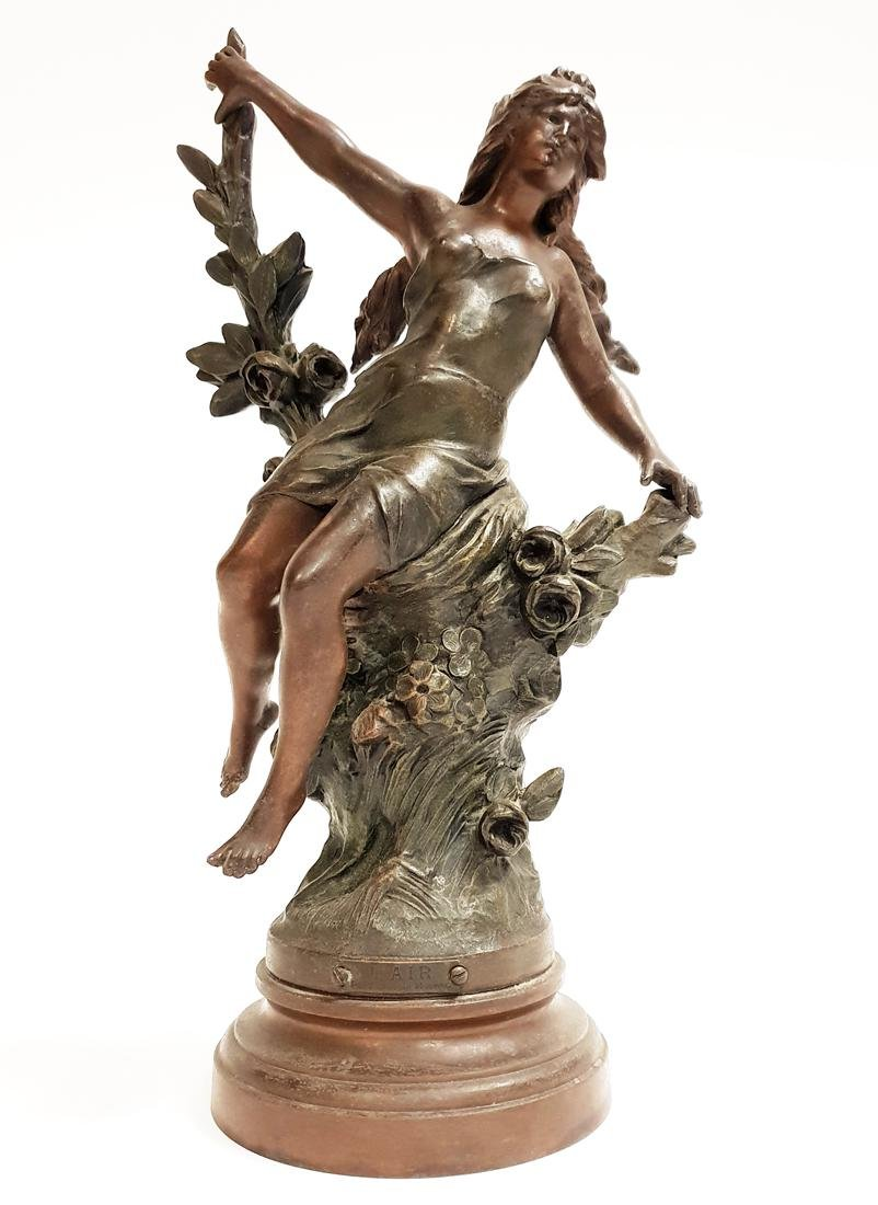 f0f44db2839 Buy An Art Deco Vintage L'AIR Statue By