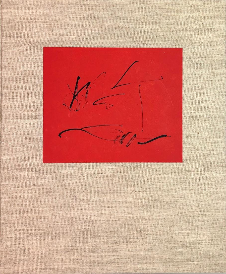 Robert Motherwell TRES POEMS COVER lithograph