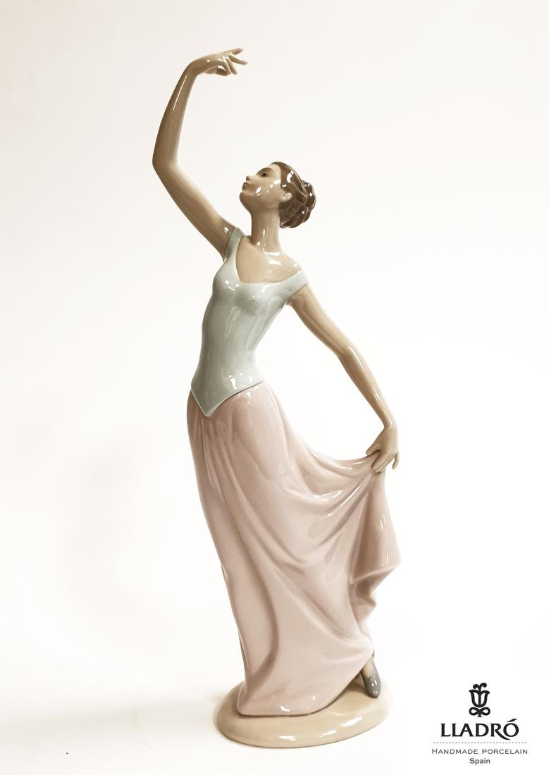 The Dance Is Over, A NAO By LLADRO Porcelain Figurine