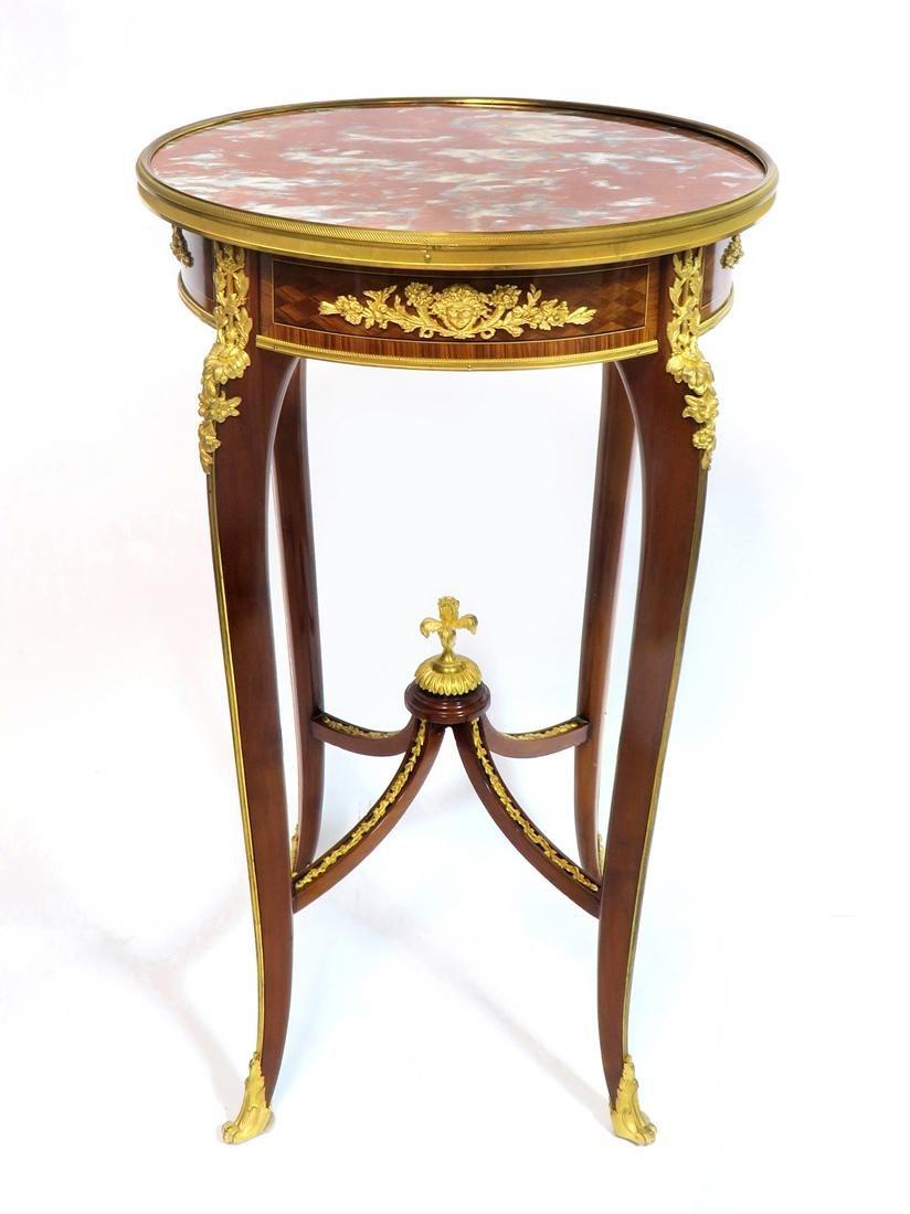 F. Linke Attributed Louis XV Table Ambulante