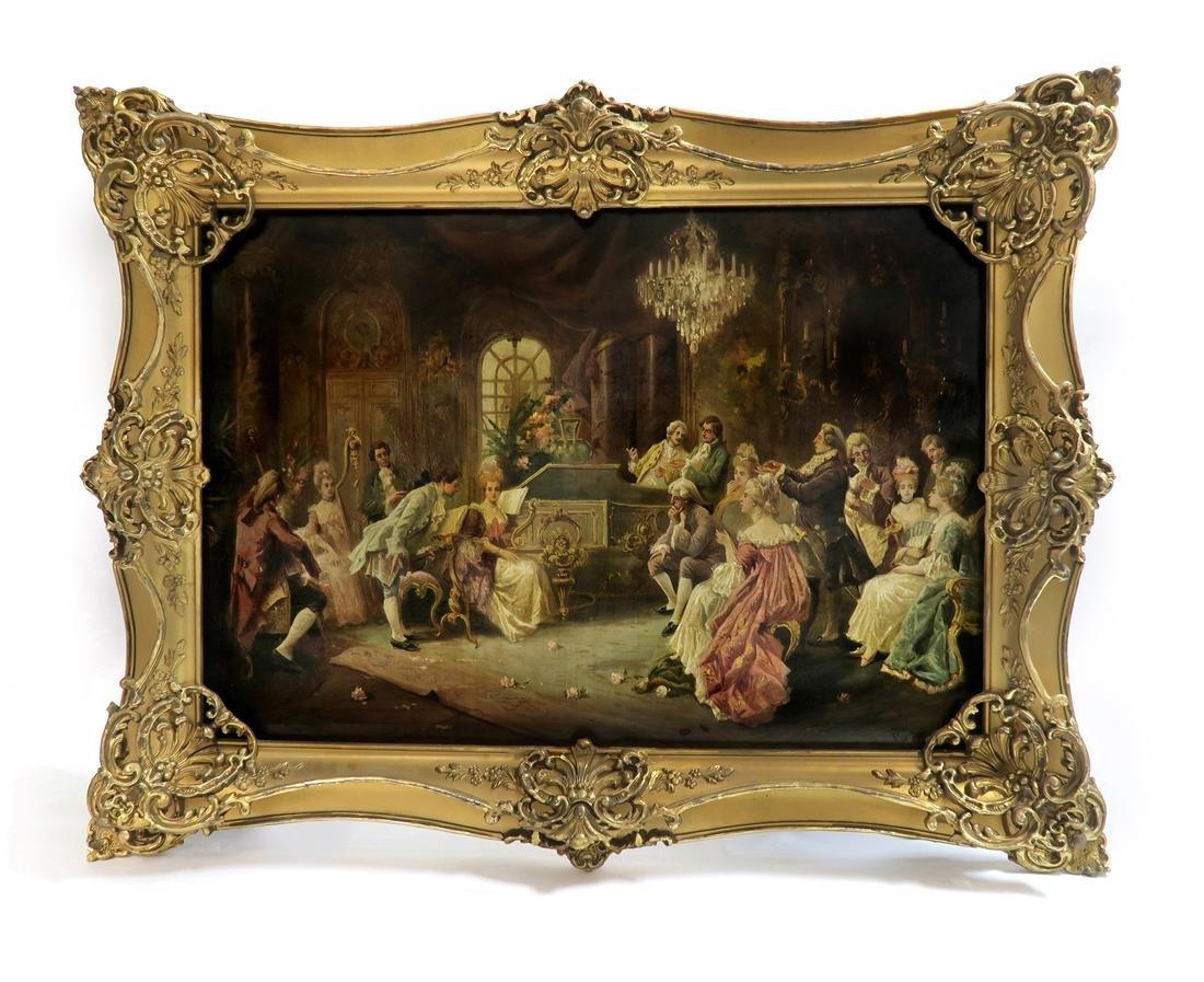 Vincente De Garcia Paredes (1845-1903) Oil on Canvas