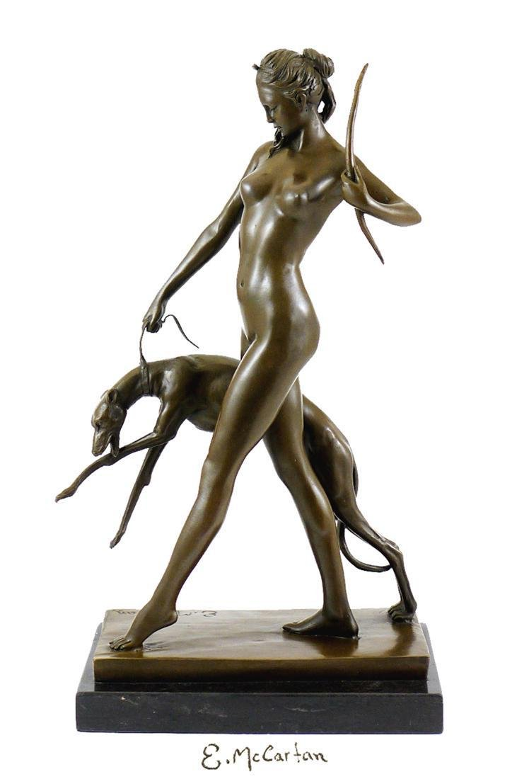 "DIANA with HOUND, After ""Edward McCartan"" Bronze Statue"