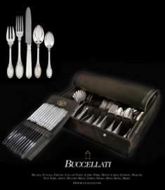 """Buccellati """"Empire"""" Sterling Silver Flatware Set"""