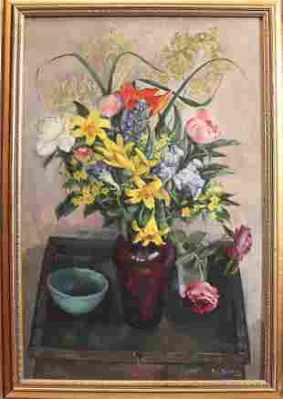 JOSEPH RASKIN (New York, 1897-1981) Oil on Canvas
