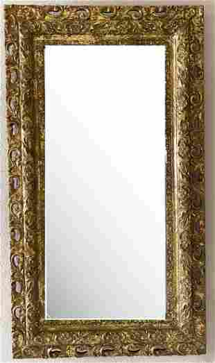 A Gilt Wood Mirror