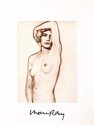 Natasha, A Vintage Original Photo Engraving by Man Ray