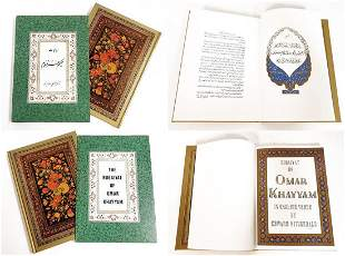 Vintage The Rubaiyat of Omar Khayyam Book, Ltd Edition