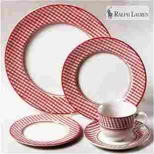 Ralph Lauren Wedgewood Homestead Dinner Set (8 Pieces)