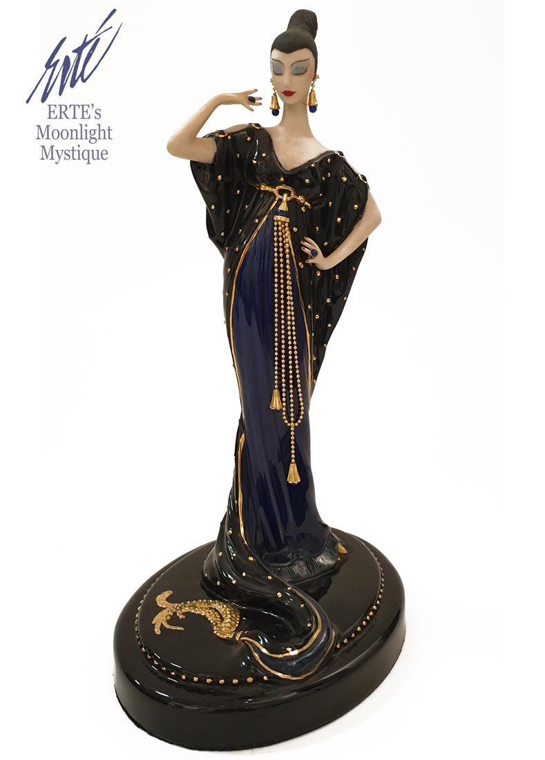 Moonlight Mystique, A House of ERTE Figurine