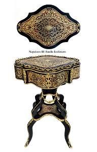 Exceptional Napoleon III Boulle Bronze Jardiniere
