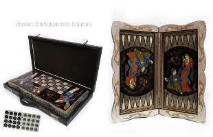 Special Edition Persian khatam Backgammon