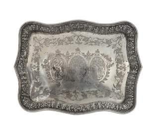 Persian Silver Tray