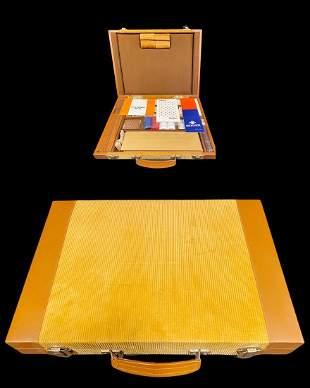 A Neiman Marcus Backgammon & Play Set