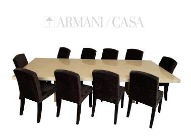 Armani Casa Rectangular Trocadero Dining Table