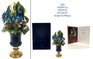 Igor Carl Faberge The Imperial French Bouquet, COA