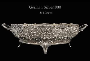 A German 800 Silver Centerpiece