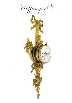 Tiffany & Co Napoleon III Figural Cartel Clock
