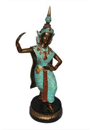 An Indian Bronze Figurine