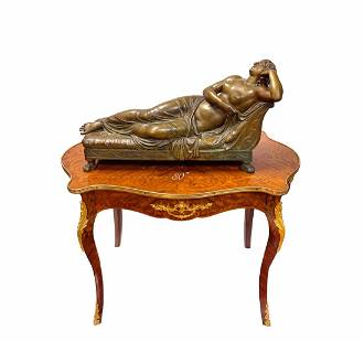 A Very Large 19th C. French Patinated Bronze Sculpture