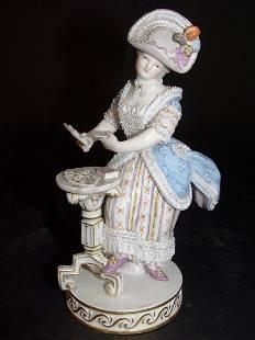 19th Century German Meissen Porcelain Figurine
