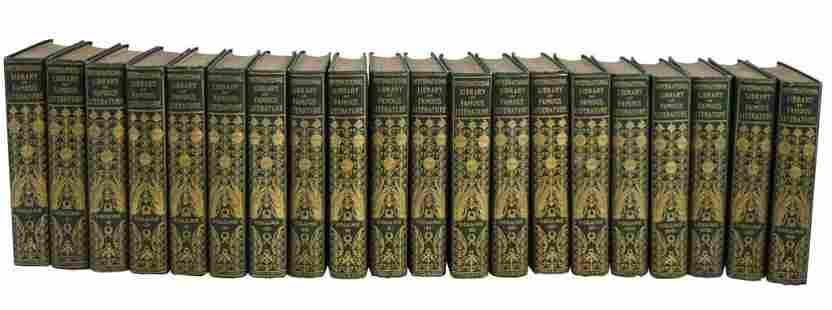 International Library Famous Literature Set [20 vols]