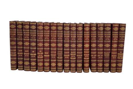 The Works of Charles Dickens [17 vols]