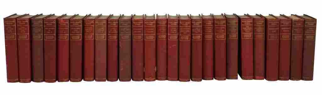 Set of Mark Twain Works [25 vols]