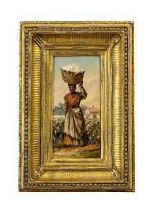 "William Aiken Walker, ""Creole Cotton Picker"""