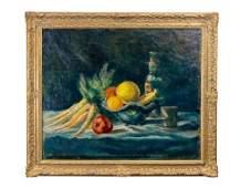 """Eugene H. Thomason, """"Still Life, Fruit Bowl"""""""
