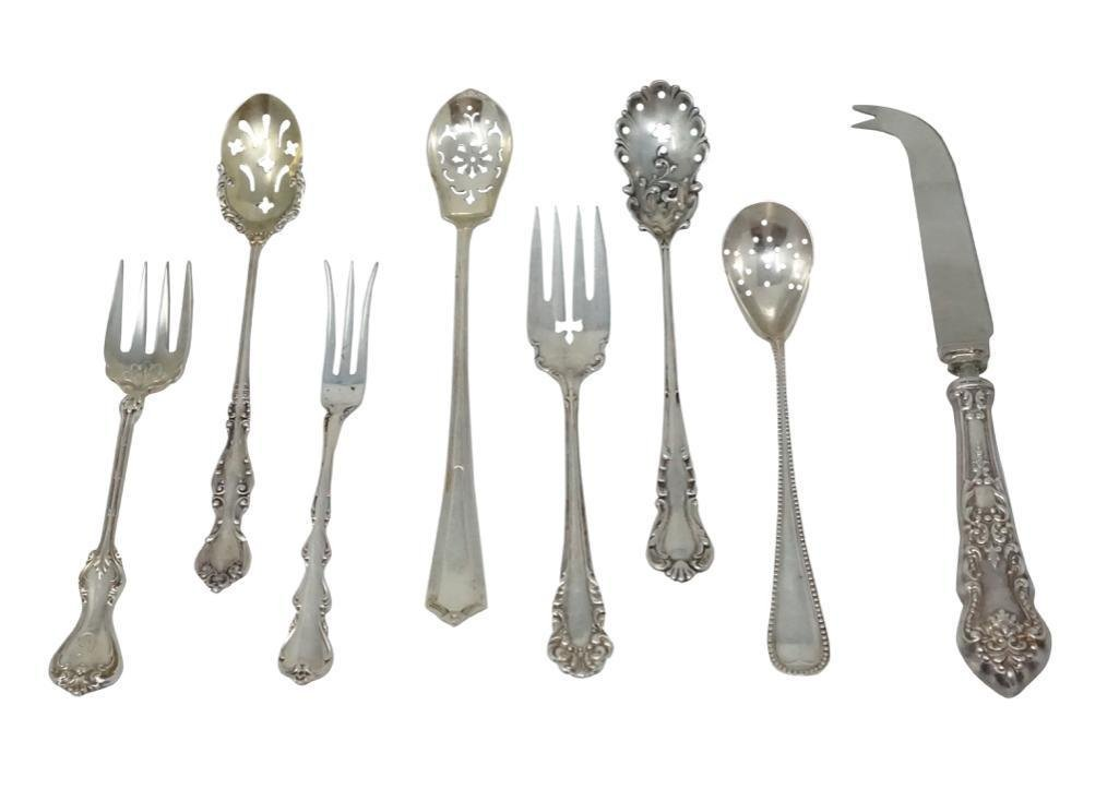 Sterling Silver Serving Pieces [7 pieces total]